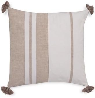 Southern Tide Sandbar Stripe Tassel Decorative Pillow
