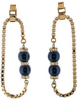 Mawi Chain Hoop Earrings