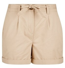 Dorothy Perkins Womens Dp Petite Stone Chino Shorts