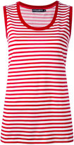 Dolce & Gabbana striped tank top - women - Cotton - 44