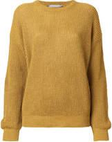 Cristaseya dropped shoulder knit jumper