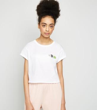 New Look Girls Sushi Wasa Bae Slogan T-Shirt