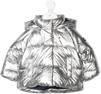 Tommy Hilfiger Junior Padded Zip-Up Coat