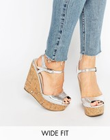 Asos TWIRL Wide Fit Wedges