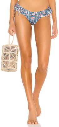 Montce Swim Ruffle Bow Uno Bikini Bottom
