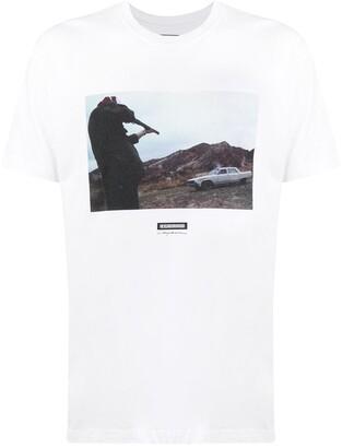 Neighborhood photo print T-shirt