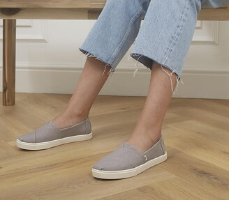 Toms Alpargata Cupsole Slip Ons Morning Dove Heritage