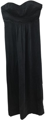 Twelfth St. By Cynthia Vincent Anthracite Silk Dress for Women
