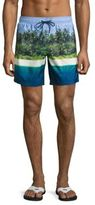 Sundek Island Photo Board Shorts