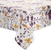 Sur La Table Floral Purple Tablecloth