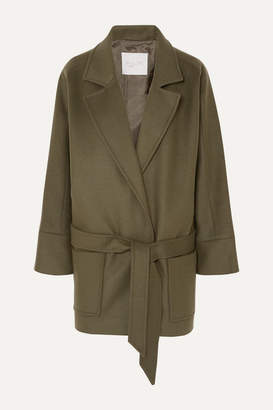 Envelope1976 - London Belted Wool Jacket - Army green
