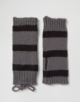 Hat Attack Stripe Fingerless Glove
