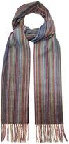 Paul Smith Striped cashmere scarf
