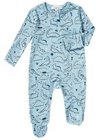Angel Dear Dino-Print Zip Footie Pajamas, Size 0-9 Months