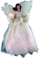 Kurt Adler 14.5 Ivory Angel Lighted Treetopper