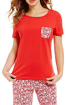 Sleep Sense Floral-Pocket Sleep Top