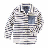 Osh Kosh Oshkosh Long Sleeve Button-Front Shirt Boys
