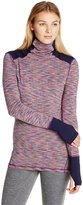 Cuddl Duds Women's Flex Fit Huddle Up Turtleneck Top