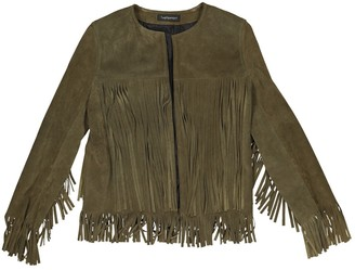 N. The Perfext \N Khaki Suede Jackets