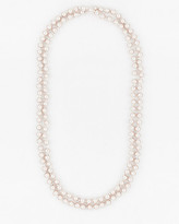 Le Château Pearl-Like Collarbone Necklace