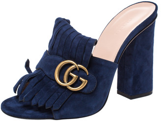 Navy Blue Gucci Shoes | Shop the world