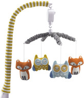 Lolli Living Woods Fox and Owl Musical Mobile