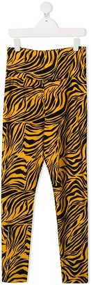 MonnaLisa TEEN tiger-print slim-fit leggings