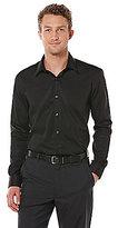 Perry Ellis Big & Tall Non-Iron Long-Sleeve Woven Shirt