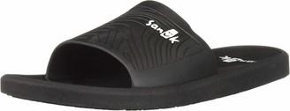 Sanuk Beachwalker Slide Black 7