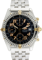 Breitling Vintage Chronomat 18K Yellow Gold & Stainless Steel Watch, 39mm