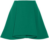 Opening Ceremony Walt pleated stretch-crepe mini skirt