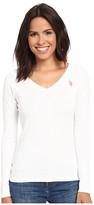 U.S. Polo Assn. Rib V-Neck T-Shirt