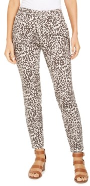 Style&Co. Style & Co Curvy Printed Skinny Jeans