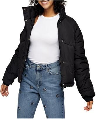 Topshop Lorrcan Puffer Jacket