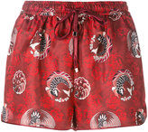 F.R.S For Restless Sleepers - Glauco shorts - women - Silk - M