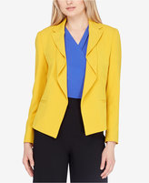 Tahari Asl Flounced Jacket, Regular & Petite
