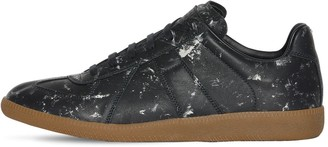 Maison Margiela LEATHER HAND-PAINTED REPLICA SNEAKERS