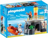 Playmobil Lighthouse with Rescue Raft