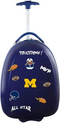Youth Michigan Wolverines Wheeled Pod Luggage