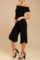 BB Dakota Otisa Off Shoulder Jumpsuit