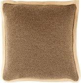 Alicia Adams Alpaca Stockinette-Stitched Pillow-GREY