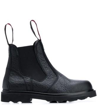 Marni logo pull tab Chelsea boots