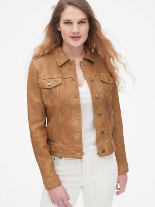 Gap Icon Leather Jacket