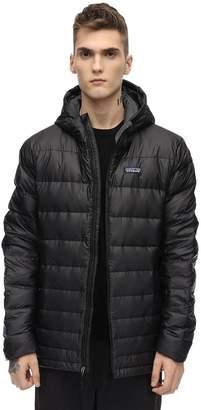 Patagonia Hooded Hi-loft Camo Print Down Jacket