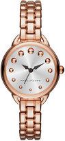Marc Jacobs Women's Betty Rose Gold-Tone Stainless Steel Bracelet Watch 28mm MJ3496