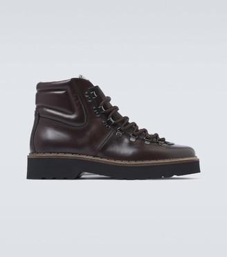 Tod's Trekking Carrarmato hiking boots
