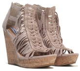 Not Rated Women's Honey Buns Fringe Wedge Sandal