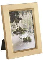 "Vera Wang Wedgwood Gold-Plated Photo Frame (4"" x 6"")"