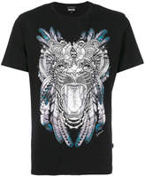 Just Cavalli tiger head print T-shirt