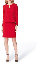 Tahari ASL Stretch Crepe 2-Piece Skirt Suit